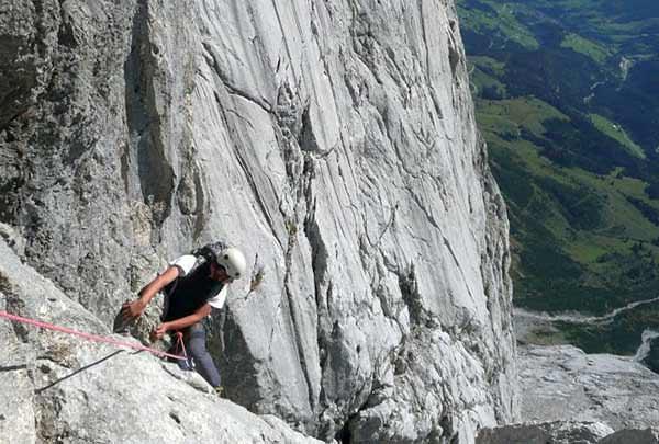 Rock climbing in Hochkönig