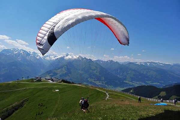 Paragliding in Hochkönig