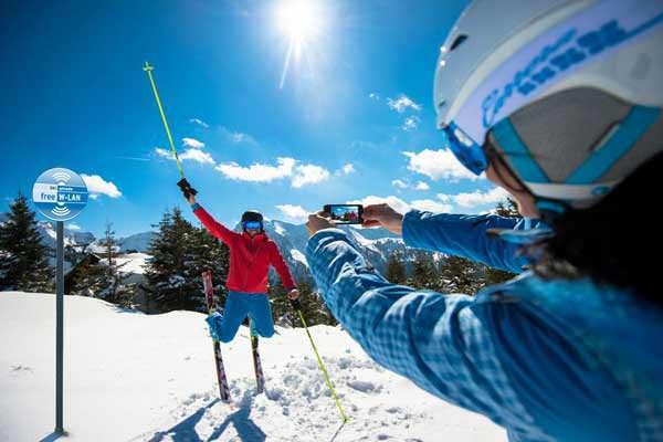 Free WifI in Ski Amade