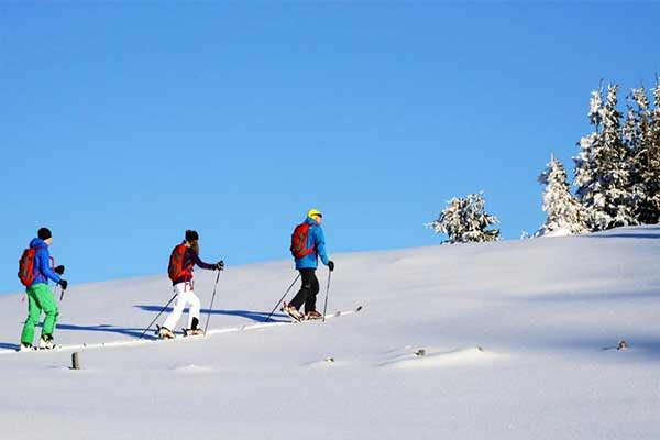 Ski touring in Hochkönig